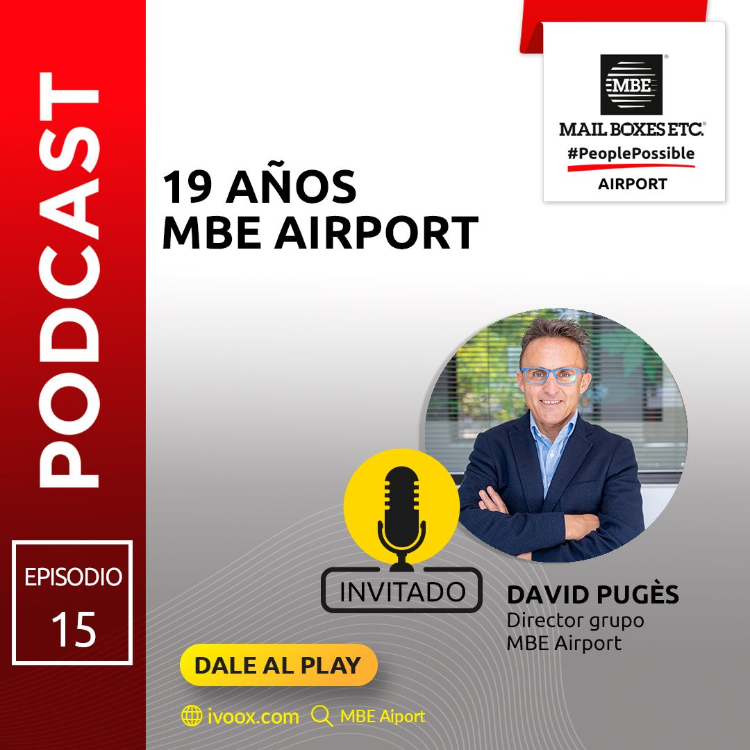 Podcast 19 años MBE Airport